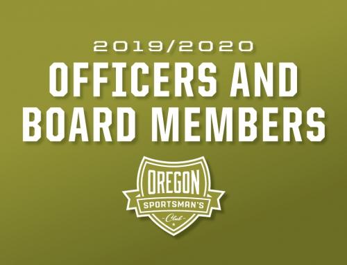 2019/2020 Officer & Board Members
